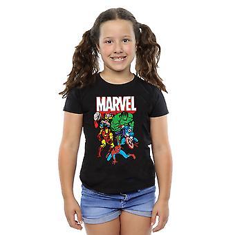 T-Shirt Marvel dziewczyny bohater grupy