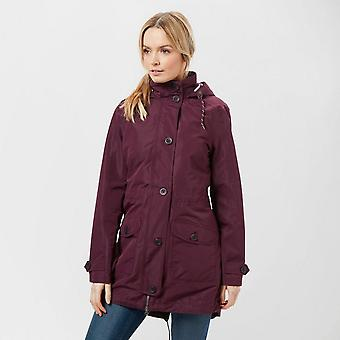 New Peter Storm Women's Full Zip Long Sleeve Oakwood Jacket Plum