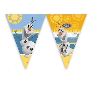 Proporzec Garland de kokietka OLAF Frozenparty dzieci urodziny 2 m