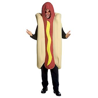 Hot Dog Deluxe Halloweenie Fast Food Footy Match Mens Womens Costume OS
