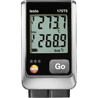 testo 175 T3 Temperature data logger Unit of measurement Temperature -50 up to +1000 °C