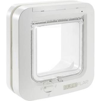 SureFlap Mikrochip Cat door Pet door flap White 1 pc(s)