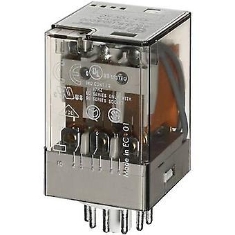 Finder 60.13.8.110.0040 Plug-in relä 110 V AC 10 a 3 omställningar 1 dator