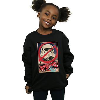 Star Wars meisjes rebellen Poster Sweatshirt