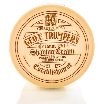 Óleo de coco de geo F Trumper barbear suave sabão pote - 200g