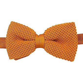 David Van Hagen pianura maglia papillon - arancione bruciato