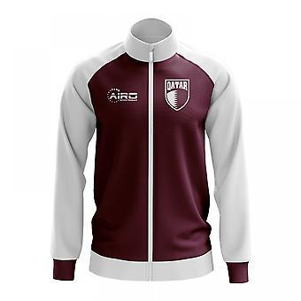 Qatar käsite jalkapallo Track Jacket (burgundi)
