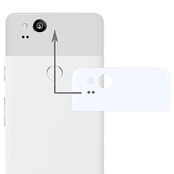 Google pixel 2 repair cover rear glass lenses cover case white new high quality