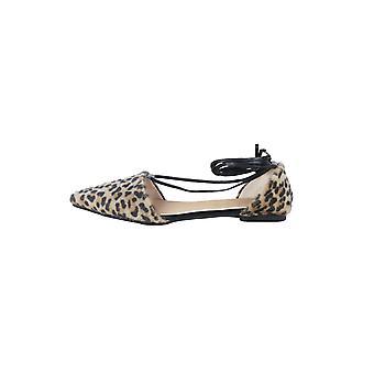 LMS Leopard nauhakiinnitys jalka tasainen huomautti kenkä