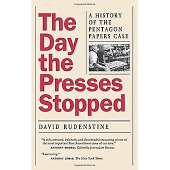 Päivän puristimet pysähtyi: historia Pentagon Papers tapauksessa
