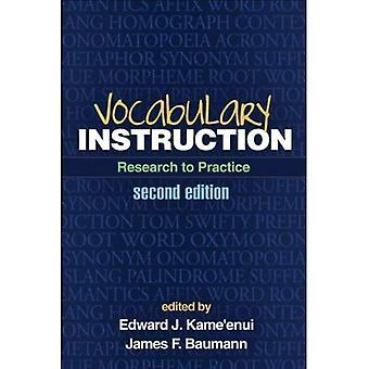 Ordförråd instruktion, andra upplagan: Forskning till praktik