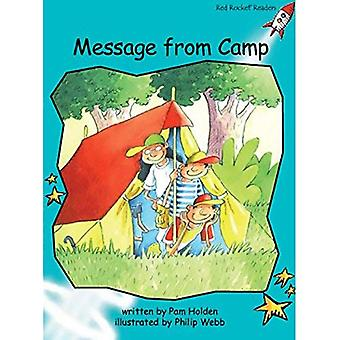 Meddelande från Camp: nivå 2: flyt (röd raket läsare: Fiction uppsättning A)