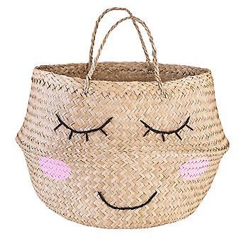 Sass & Belle Seagrass Sweet Dreams Storage Basket