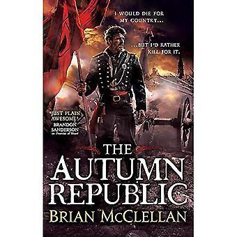 Der Herbst-Republik (Pulver-Magier-Trilogie)