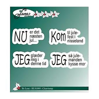Av Lene Clear Stamp Danske Tekster 3