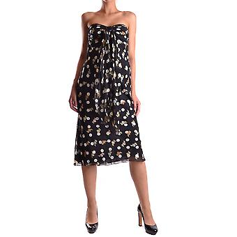 Iceberg Ezbc188003 Women's Black Cotton Dress