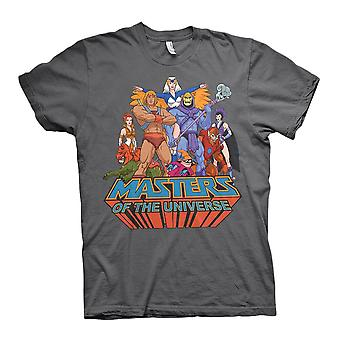 Men's Masters of the Universe Grey Crew Neck T-Shirt
