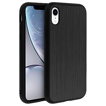 Brushed Metal iPhone XR Case SolidSuit Series Rhinoshield silver
