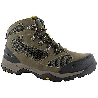 Hi-Tec Smokey Brown Mens Storm WP Walking Boots