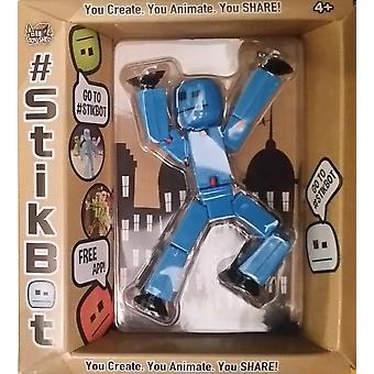 Stikbot الرقم الأزرق اللون الصلب