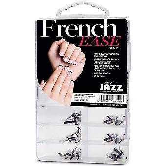 Tutto ciò che Jazz French Facili - False Nails - Nero
