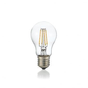 Ideal Lux Light Bulb Classic E27 4W Goccia Transparent