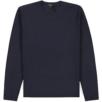 Belstaff Long Sleeve Logo T-Shirt