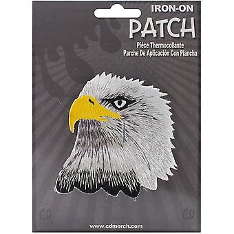 Patch - Animals - Eagle Head Iron On Gifts New Licensed p-3540