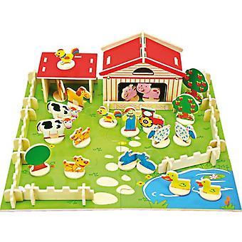 ليجلير تشييد المزرعة (الرضع والأطفال، لعب أطفال، الإنشاءات)
