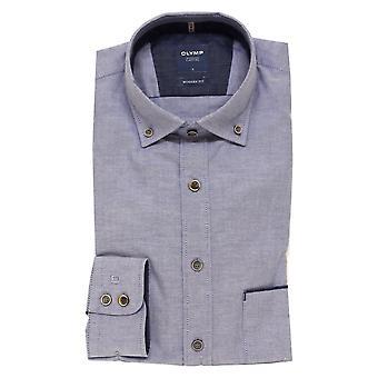 OLYMP Olymp Blue Shirt 4022 18