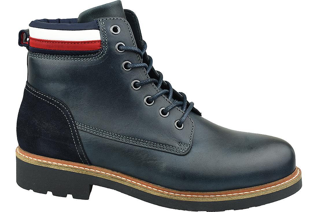 newest collection details for good quality Tommy Hilfiger Active Corporate Boot FM0FM02654-CKI Mens winter boots
