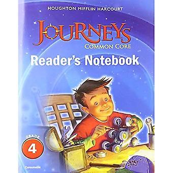 Houghton Mifflin Harcourt viajes: Notebook consumibles grado del lector común base 4 (Houghton Mifflin Harcourt viajes)