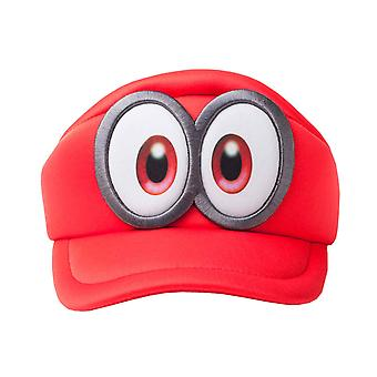 Super Mario Hat Cap Odyssey Eyes Shaped new Official Nintendo Red Kids