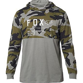 Fox Mens Non Stop Camo Long Sleeve Hooded Top