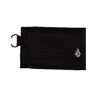 Volcom Nylon Stone Polyester Wallet in Black