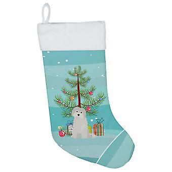 Carolines Treasures  CK3501CS Maltese #2 Christmas Tree Christmas Stocking