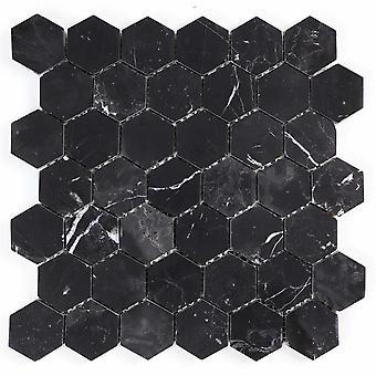 Mosaik D-sign Hexagon Marble Black