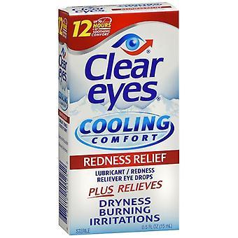 Klare Augen kühlen Komfort Rötung Relief Augentropfen