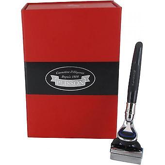 Fusion and Stand Razor Luxury Box - Negro y Gris