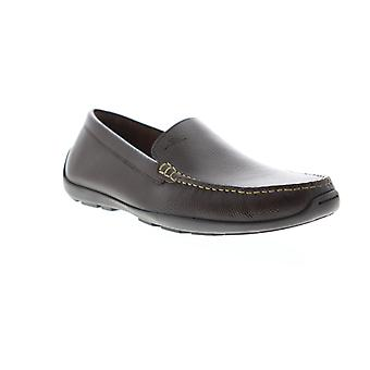 Tommy Bahama Orion  Mens Brown Wide Leather Casual Loafers Shoes