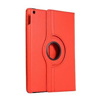 360 caz rotativ Apple iPad 10,2 2 2019-roșu