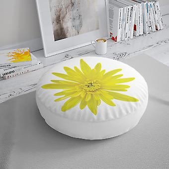 Meesoz Floor Cushion - Flor Amarela I