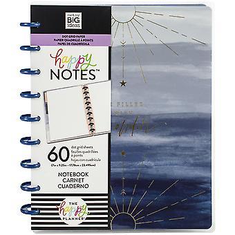 Happy Planner Medium Notebook W/60 Sheets-Boho Wonder, Dot Grid
