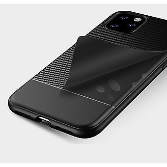 iPhone 11 Pro | Koolstofvezel Soft TPU Case