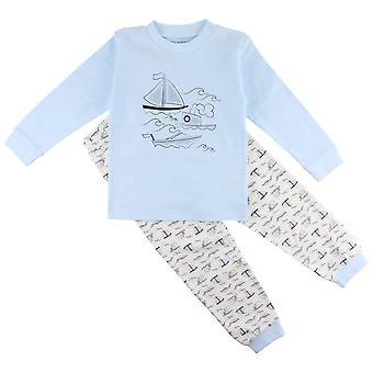 2-del Pyjamas med båtar, Fixoni