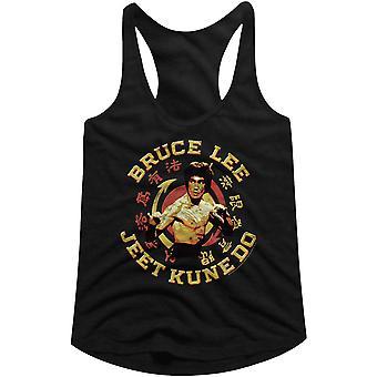 American Classics Women's Bruce Lee JKD Master Racerback Tank Top - Black