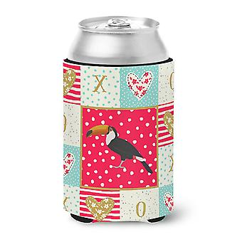 Carolines Treasures  CK5517CC Toucan Love Can or Bottle Hugger