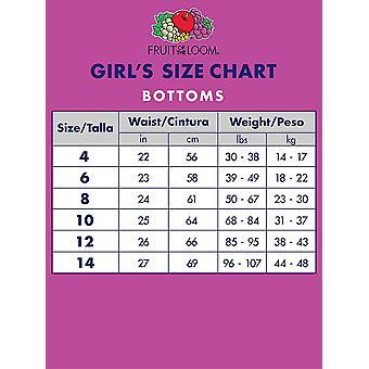 Fruit of the Loom Girls' Big Cotton Brief Underwear, 10, MultiColor, Size 10