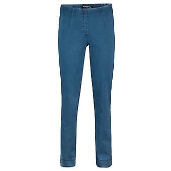 ROBELL Robell Blue Trouser Marie 51639 5448 64