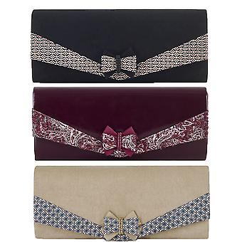 Ruby Shoo Women's Montreal Bow Clutch Bag